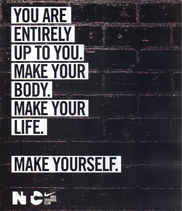 Nike Make Yourself