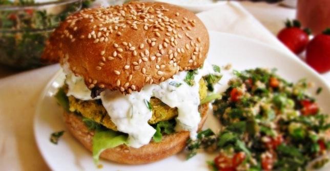 Baked Chickpea Burgers Greatist