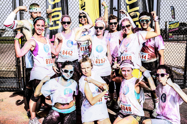 Color Run Greatist Team