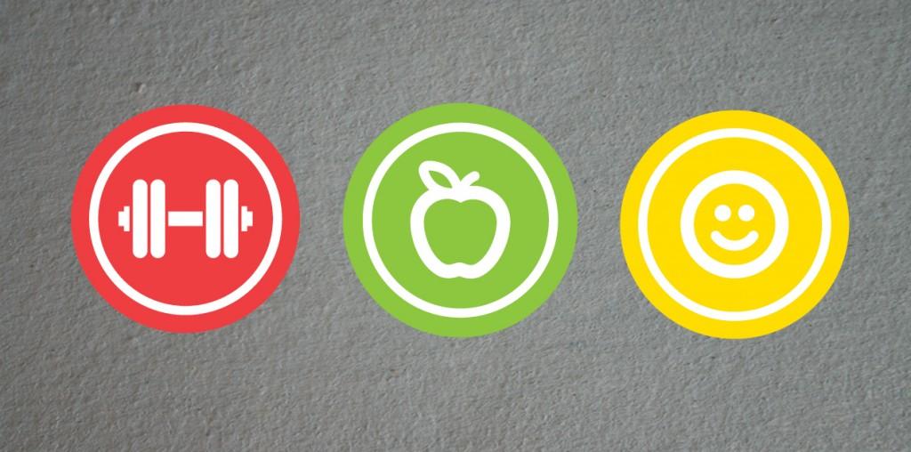 Three Icon Logo