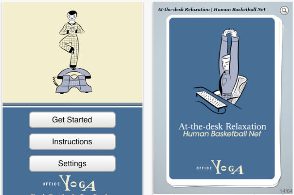 office yoga app