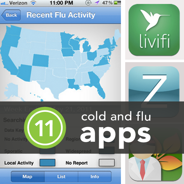 11 Apps to Help Combat Cold and Flu