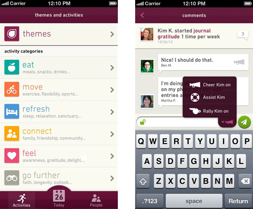 Fig App Screenshots