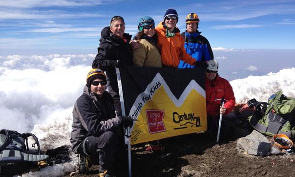 Rick Davidson Climbing